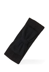 Forever 21 Bow Front Headwrap Black