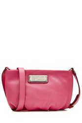 Marc By Marc Jacobs Percy Leather Shoulder Bag Pink