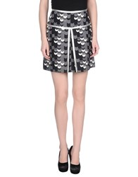 Prada Skirts Mini Skirts Women Grey
