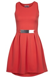 Lipsy Cocktail Dress Party Dress Orange