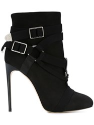 Dsquared2 Stiletto Heel Boots Black