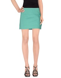 Aspesi Skirts Mini Skirts Women Green