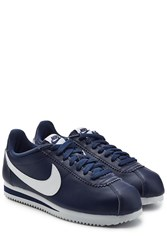 Nike Leather Cortez Sneakers Blue