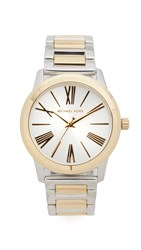 Michael Kors Hartman Watch Gold Silver