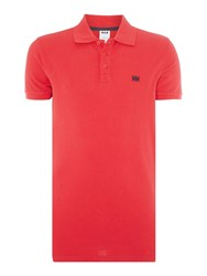 Helly Hansen Transat Polo T Shirt Blood
