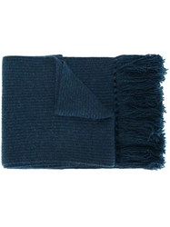 Marc Jacobs Marled Scarf Blue