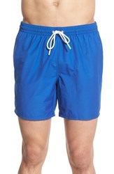 Men's Lacoste Solid Swim Trunks Blue