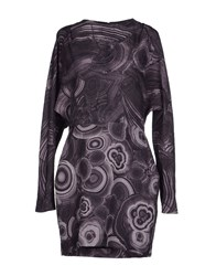 Pedro Del Hierro Dresses Short Dresses Women Dark Purple