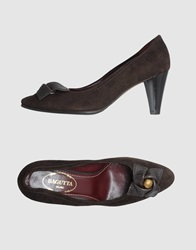 Bagutta Pumps Dark Brown