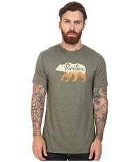 Primitive Ursus Lightweight Tee Olive Heather Men's T Shirt
