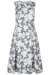 Damsel In A Dress Floral Corset Maya Dress Black And Ivory
