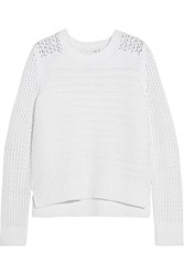 Rag And Bone Rag And Bone Annie Cotton Sweater White