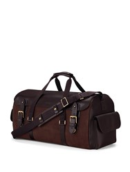 Aspinal Of London Shadow Holdall Brown
