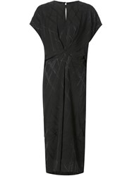 Alexandre Plokhov Gathered Detail Dress Black