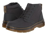 Dr. Martens Bonny Chukka Boot Charcoal Extra Tough Nylon Rubbery Men's Lace Up Boots Black