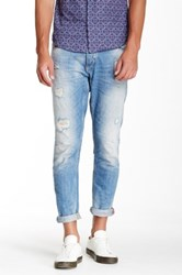 Antony Morato Faded And Distressed Jean Blue