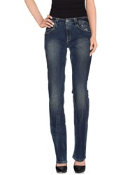 Carlo Chionna Denim Denim Trousers Women Blue