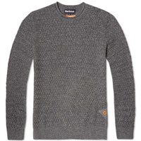 Barbour Copeland Crew Neck Grey