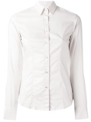 Xacus Fitted Shirt Nude Neutrals