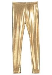 American Apparel Leggings Lame Gold
