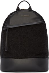 Want Les Essentiels Black Boucla Piper Backpack