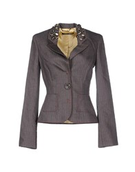 Roberta Scarpa Suits And Jackets Blazers Women Grey
