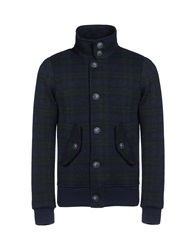 Edward Spiers Jackets Dark Blue