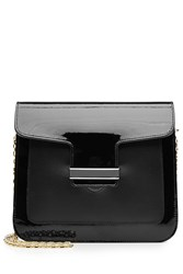 Vanessa Seward Patent Leather Shoulder Bag Black