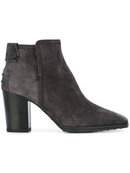 Tod's Ankle Boots Grey