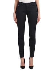 Calvin Klein Mid Rise Skinny Jeans Pop Black Stretch