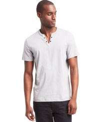 Kenneth Cole Reaction Eyelet T Shirt Stream