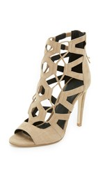 Rebecca Minkoff Roxie Lace Up Sandals Taupe