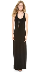 Norma Kamali Kamali Kulture Racer Back Maxi Dress Black
