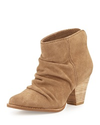 Splendid Rodeo Nut Suede Bootie Latte