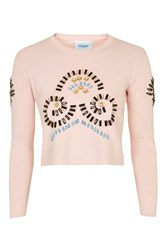 Eden Beaded Jumper By Jovonna Pink