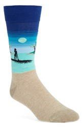 Men's Hot Sox 'Stand Up Paddleboard' Socks