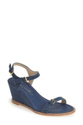 Bettye Muller 'Portofino' Wedge Sandal Women Blue