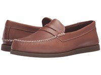 Sperry A O Wedge Penny Tan Men's Lace Up Moc Toe Shoes