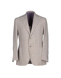 L And B Suits And Jackets Blazers Men Lilac