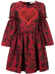 Piccione.Piccione Piccione. Piccione Balloon Dress Red