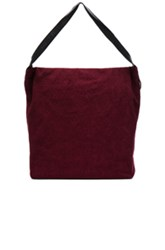 Ann Demeulemeester Tote Bag In Red