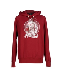 Three Stroke Sweatshirts Maroon