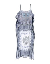 Maliparmi Dresses 3 4 Length Dresses Women Grey