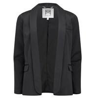 Milly Women's Shawl Collar Blazer Black