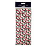 John Lewis Ruskin House Ditsy Berry Tissue Paper Pack Of 10