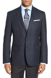 Nordstrom Men's Men's Shop Classic Fit Check Wool Sport Coat