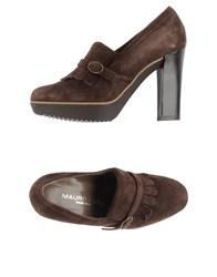Mauro Fedeli Footwear Moccasins Women Dark Brown