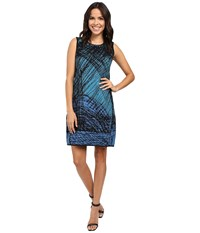 Nic Zoe Scribble Knit Dress Multi Women's Dress