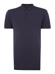 Label Lab Moore Plain Polo Dark Navy