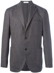 Boglioli Two Button Blazer Nude And Neutrals
